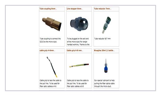 accesorios equipos de soplado Zeitler