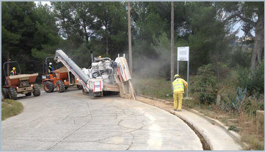 excavaciones de zanjas para gas natural