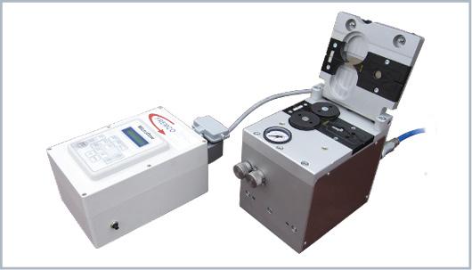 Máquina de soplado de fibra óptica Microflow Touch