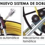 guías pasacables de fibra de vidrio con carro