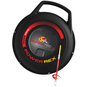 Guía pasacables POWER REX de fibra de vidrio Runpotec