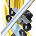 contador de metros guía de fibra de vidrio