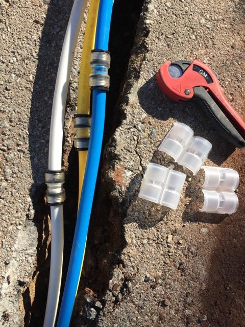 herramientas y accesorios conectores de microductos