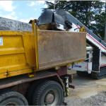 minizanja con carga directa a camion