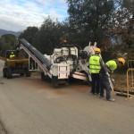 excavación de zanjas para gas