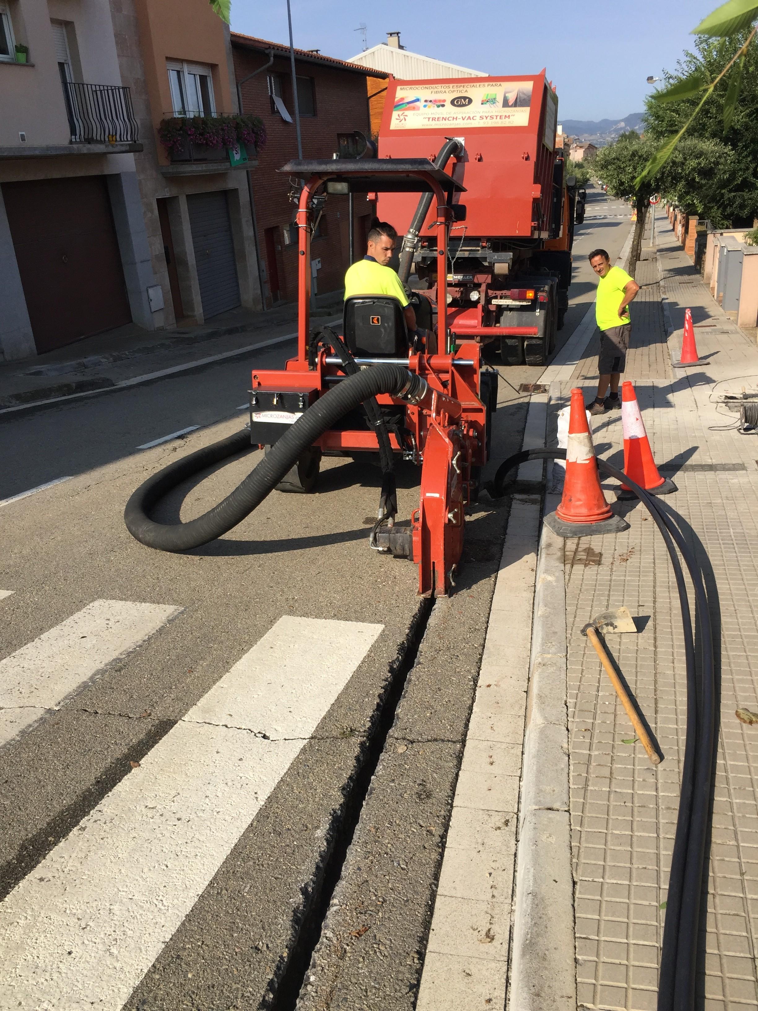 canalizaciones para fibra optica