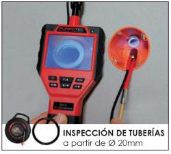 Cámara de inspección Runpocam rc2