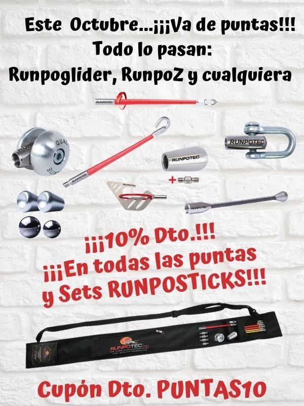 PROMOCIÓN PUNTAS10 en Runposticks Runpotec y más